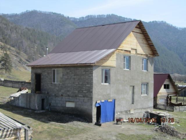 2-х этажный дом, S=164 м2, с участком 12 соток в с. Элекмонар