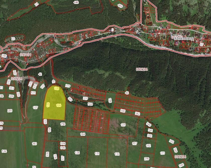Земельный участок ЛПХ, 9,14 ГА. в с. Верх-Анос