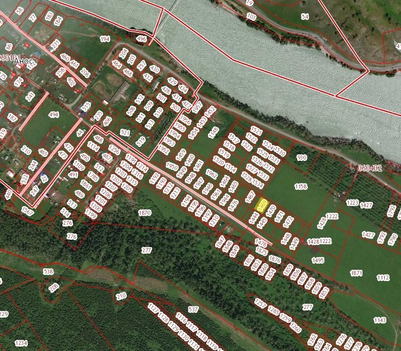 Земельный участок 10 соток в с. Анос