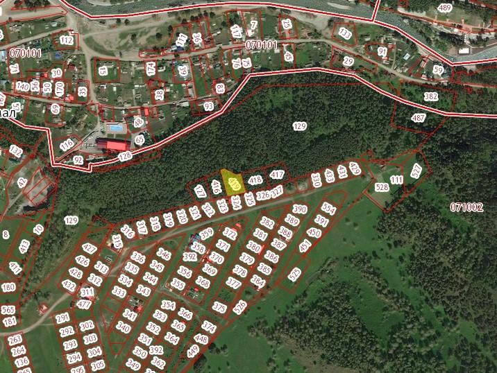 Земельный участок около леса, ИЖС, 20 соток в с. Чемал