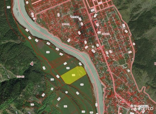 Земельный участок ДНТ 9га Берег р.Катунь, напротив с. Чемал