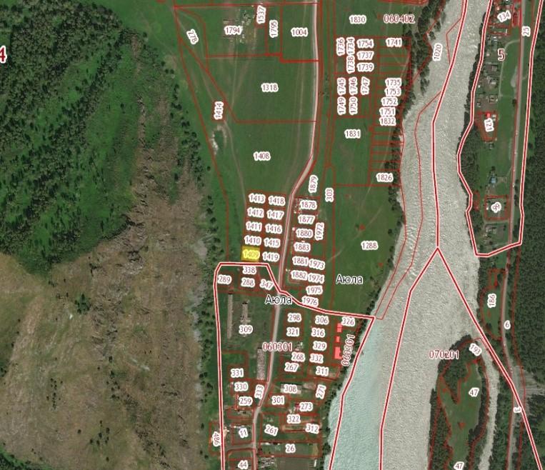 Земельный  участок, ИЖС, 12 соток в с. Аюла
