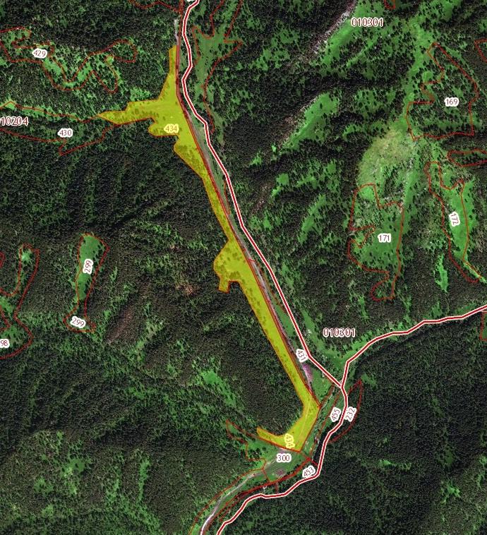 Земельный участок (ЗСН) 18 га в с. Чепош