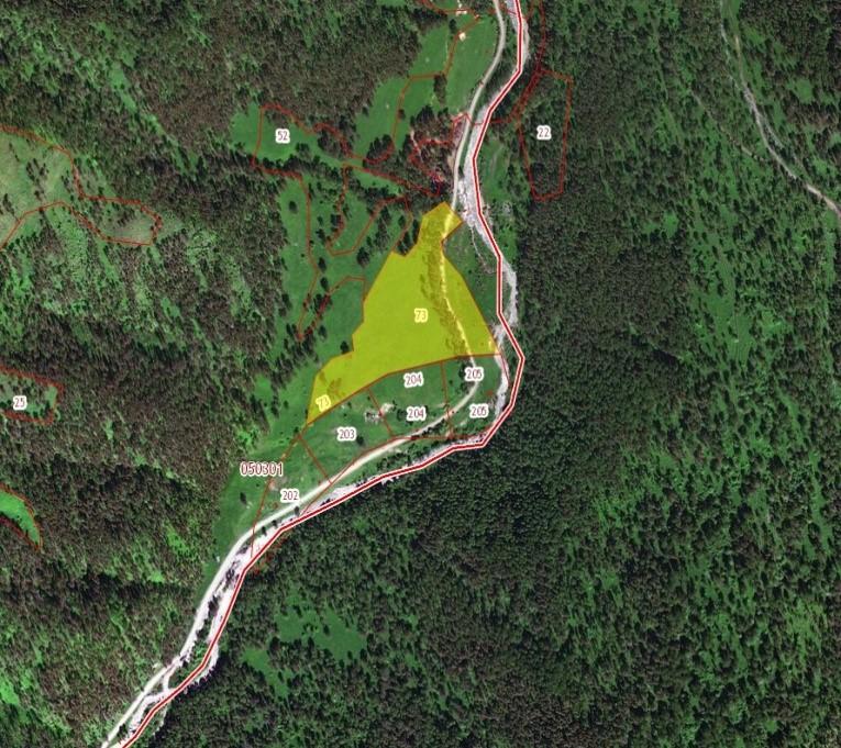 Земельный участок (ЗСН) 3,4 ГА, ГЗЗ Куюмский