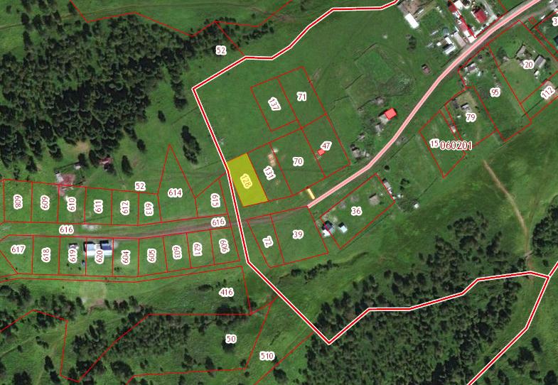 Земельный участок 13,37 соток в с.Верх-Анос ЗНП