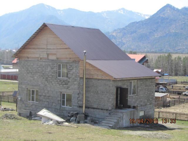 Дом 164 м2 у горы.