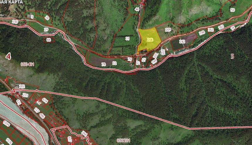Участок по дороге на Куюм 4 га недалеко от с. Элекмонар