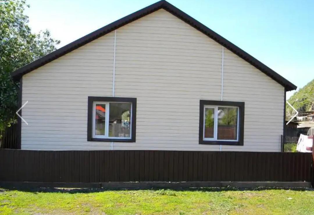 Благоустроенный дом в с. Чемал