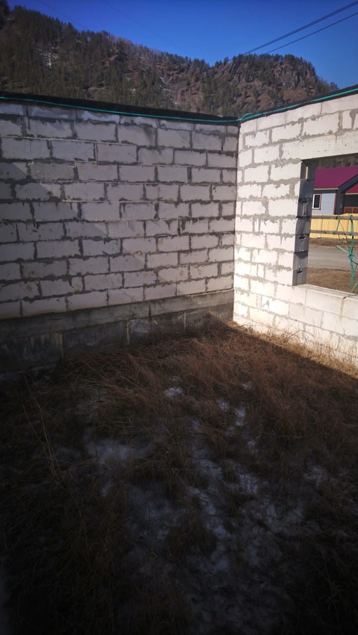 Недостроенный дом , с. Чемал