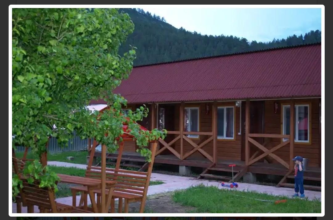 Усадьба с гостевыми домами в селе Чемал