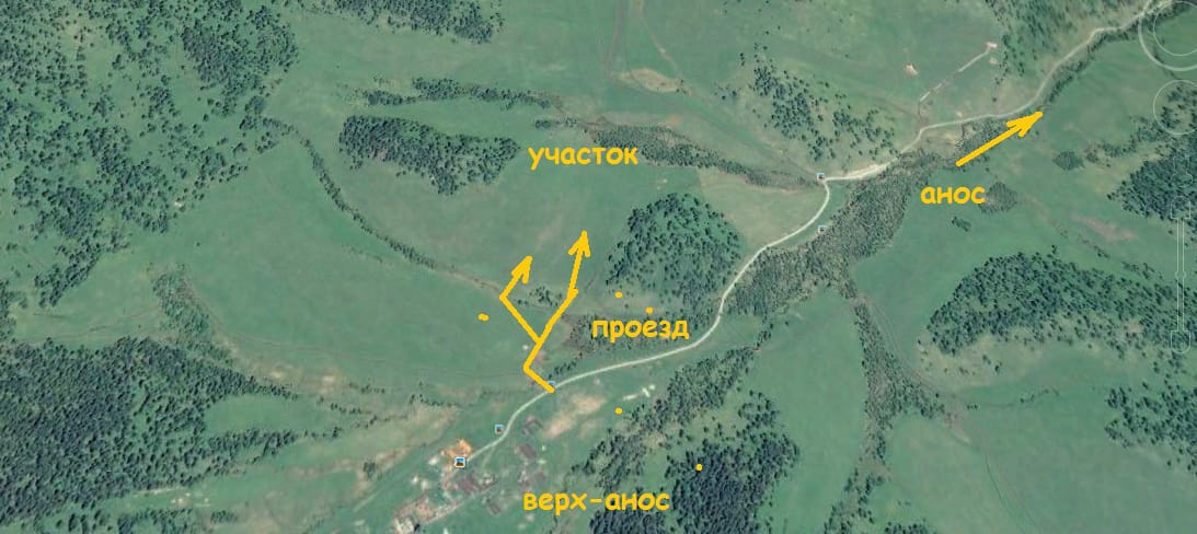 Заимка в горах с участком 2.67 га