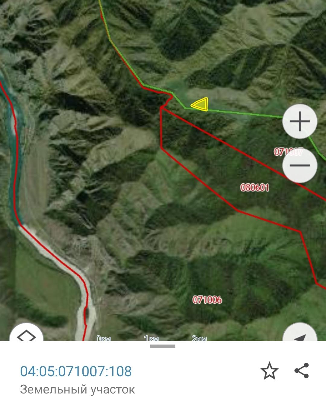 Участок в горах 3.4 Га